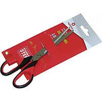 Ножницы офисные Optima O44405 18см с резиновыми вставками