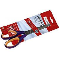 Ножницы офисные Optima O44419 20см с резиновыми вставками