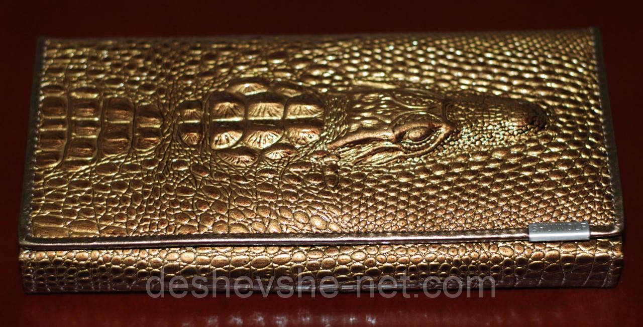 bc3745454267 Женский кожаный клатч Alligator: продажа, цена в Киеве. кошельки и ...