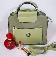 Стильная каркасная цветная сумка для деловой женщины