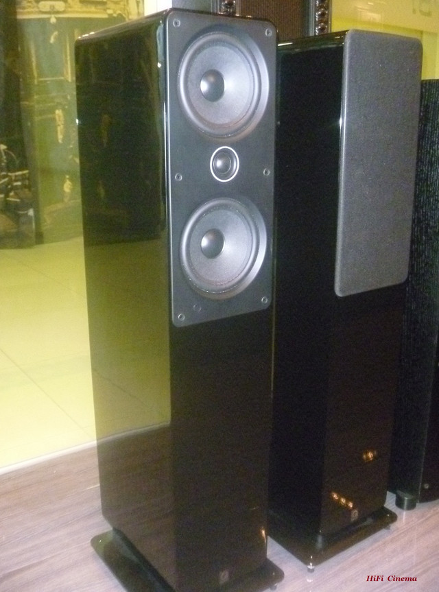 Q Acoustics 2050i High Gloss Black Hi-Fi Cinema