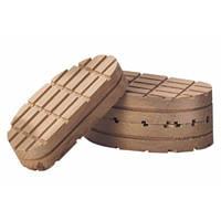 Деревянная накладка (колодка) на копыто