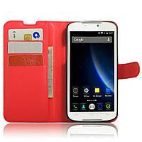 Чехол-книжка Litchie Wallet для Doogee X6 / X6 Pro / X6s Красный