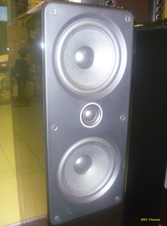 Q Acoustics 2050i High Gloss Black Hi-Fi Cinema drivers