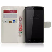 Чехол-книжка Litchie Wallet для Doogee X5 Max / X5 Max Pro Белый