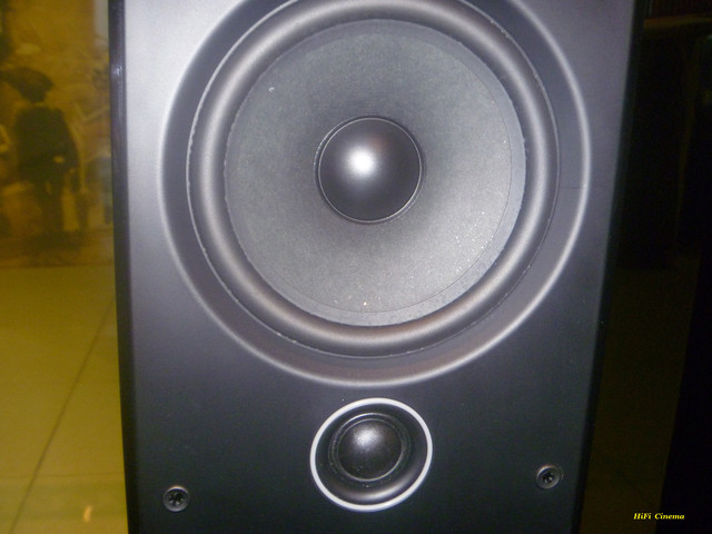 Q Acoustics 2050i High Gloss Black Hi-Fi Cinema tweeter