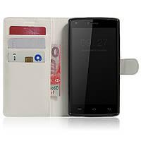 Чехол-книжка Litchie Wallet для Doogee X5 / X5 Pro Белый