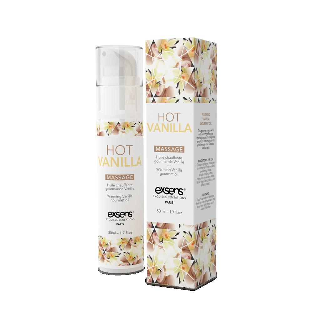 Массажное масло EXSENS Hot Vanilla 50мл