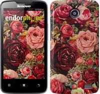 """Чехол на Lenovo A820 Цветущие розы """"2701c-68-16700"""""""