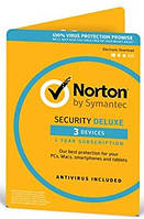 Антивирус Norton Security Deluxe для 3 ПК на 1 год (электронная лицензия)