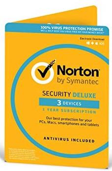 Антивирус Norton Security Deluxe для 3 ПК на 2 года (электронная лицензия)