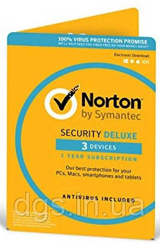 Norton Security Deluxe 2 years 3 Devices Global Key