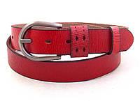 Женский красный ремень T.I.A., фото 1