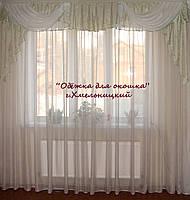 Ламбрикен Волна фисташковый 2,5м , фото 1