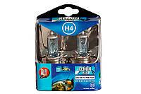 Комплект автомобильных ламп H4, 24 В,  с эффектом XENON blue