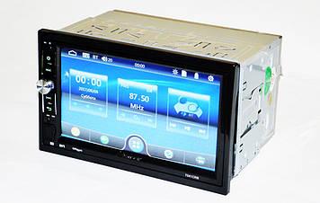 """Автомагнитола 2din Pioneer 7041 Магнитола 7"""" Экран + AV-in + пульт на руль"""