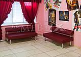 Диваны для кафе, баров, ресторанов и клубов Тетра.  Мягкая мебель для ресторанов и кафе, фото 4