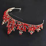 Легка корона червоного кольору, фото 2