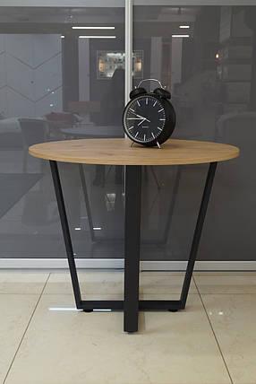 Стол обеденный М1058К Хемлок диаметр 910, фото 2
