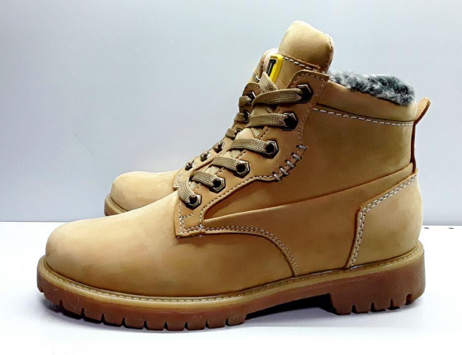 a945f4c4 Ботинки на натуральном меху из натуральной кожи, желтые. Размеры 38, 39, 40
