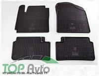 Stingray Резиновые коврики Hyundai I10 08- Kia Picanto 11-