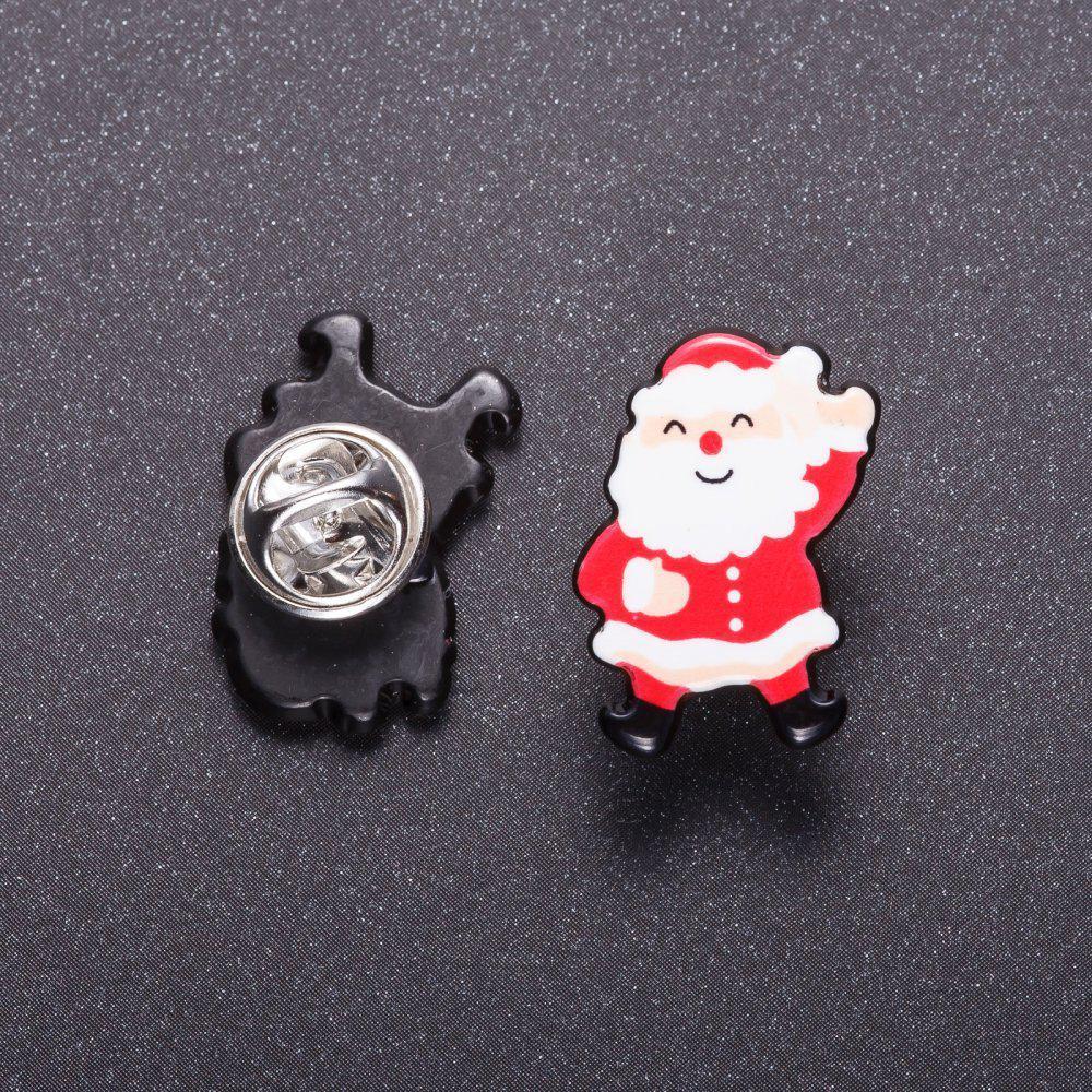"""Брошь """"Дед Мороз"""" на вкрутке 2,5см"""