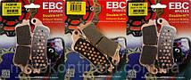 Мото колодки EBC FA261HH HONDA CBR 1100/HONDA VFR800/HONDA Goldwing 1800/HONDA XL/VICTORY/KAWASAKI Vulcan, фото 2