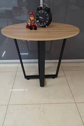 Стол обеденный М1058К Вяздиаметр 1000, фото 2