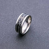 "Кольцо ""Кардиограмма"" р-р 17-20"