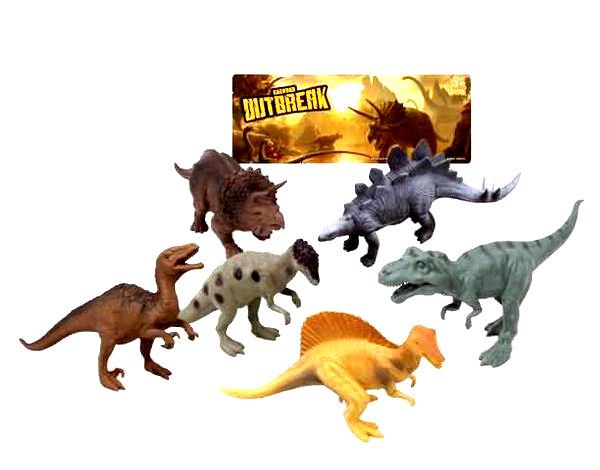 Набор Динозавров Dino outbreak , 14-17см/ 12 шт