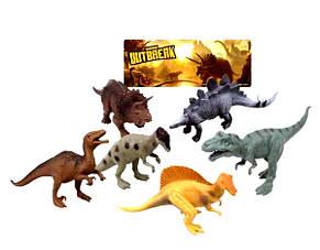 Набор Динозавров Dino outbreak , 14-17см/ 12 шт, фото 2