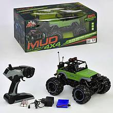 Джип на радиоуправлении MUD OF ROAD 1:16 Черно-зеленая (2-17MUD14B-69406)