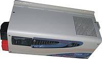 Преобразователь (инвертор)12/220 Q-POWER QPC1012/1(3)кВт sinus lcd, фото 1