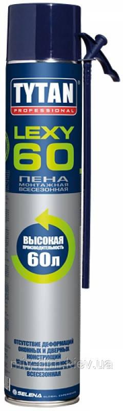 Піна монт. TYTAN Lexi60 ЗИМА/ЛІТО ручн.(0000012996)