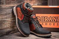 Мужские зимние кожаные ботинки Wrangler Arizona Brown , фото 1