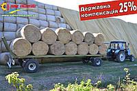 Платформа прицеп для круглых рулонов тюков соломы, сена ПП-9/2 Завод Кобзаренко