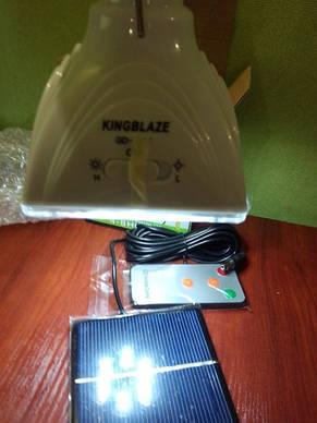 Светодиодная лампа с акуммулятором GD-LIGHT GD-5017 с солнечной батареей (Арт. 5017), фото 2