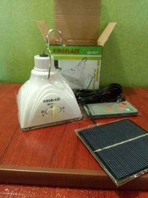 Светодиодная лампа с акуммулятором GD-LIGHT GD-5017 с солнечной батареей (Арт. 5017), фото 3
