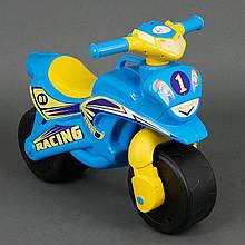Мотоцикл Active Baby Sport музыкальный Голубой с желтым (2-01391-48175)