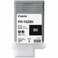 Картридж Canon PFI-102MBk для iPF500/600/700 Matte Black, 130 мл (0894B001)