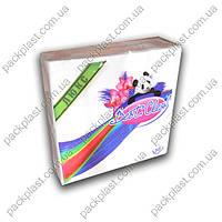 Салфетка бумажная Best Clean 50шт/уп, 33x33, 2-х слойная, 100% целюлоза., фото 1
