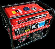 Бензиновий генератор (мініелектростанція, электрогеренатор) Eurotec QF 5.5