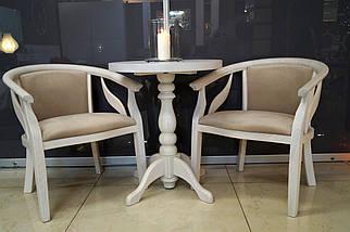 Кресло Монарх из натурального дерева, фото 3