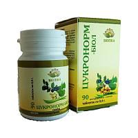 Цукронорм-биол 90т. гипогликемическое, противовоспалительное действие, регулирует углеводный и липидный обмен, фото 1