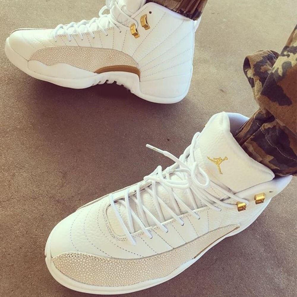 340e4498 Баскетбольные кроссовки женские в стиле Nike Air Jordan 12 OVO