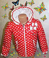 Детская куртка на девочку (весна-осень) 5,6,7,8 лет