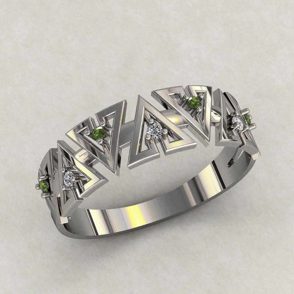 Кольцо  женское серебряное Аванти КЦ-533