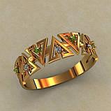 Кольцо  женское серебряное Аванти КЦ-533, фото 2