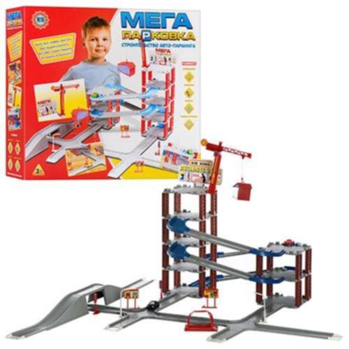 """Детский гараж """"Мега паркинг"""" с машинками 922-6"""