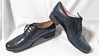 Туфли женские оксфорды кожаные черные Clarks (Размер 40 (UK7D))